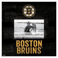"Boston Bruins Team Name 10"" x 10"" Picture Frame"