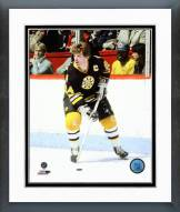 Boston Bruins Terry O'Reilly Action Framed Photo
