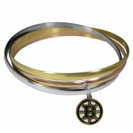 Boston Bruins Tri-color Bangle Bracelet