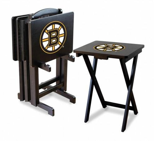 Boston Bruins TV Trays - Set of 4