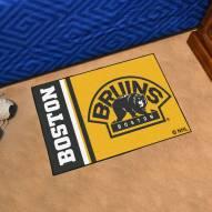 Boston Bruins Uniform Inspired Starter Rug