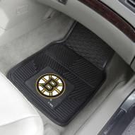 Boston Bruins Vinyl 2-Piece Car Floor Mats