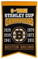 Boston Bruins Champs Banner