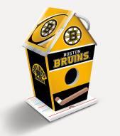 Boston Bruins Wood Birdhouse