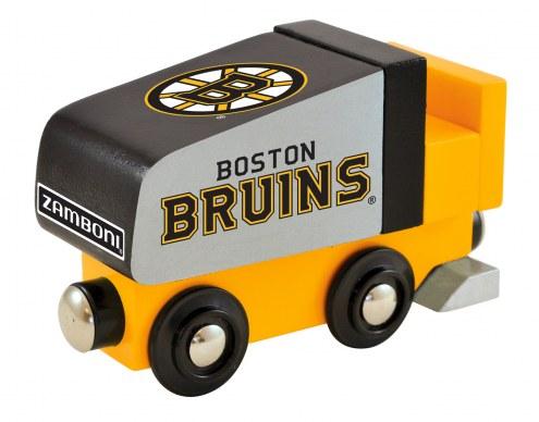 Boston Bruins Wood Zamboni Toy Train