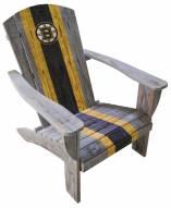 Boston Bruins Wooden Adirondack Chair