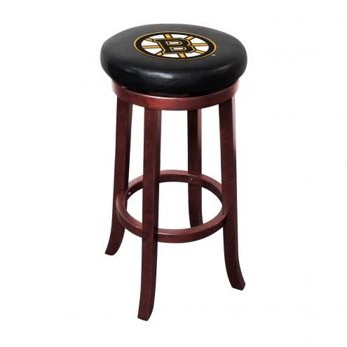 Boston Bruins Wooden Bar Stool