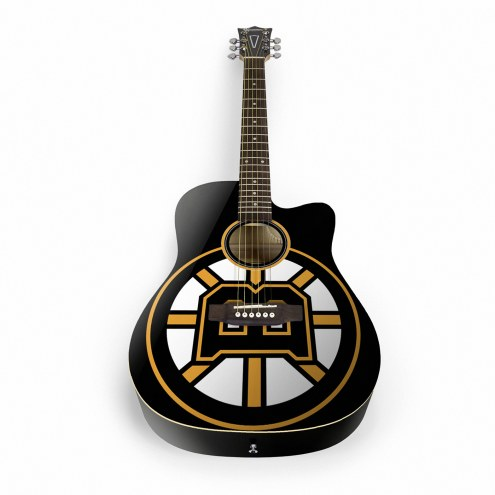 Boston Bruins Woodrow Acoustic Guitar
