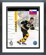 Boston Bruins Zdeno Chara Slovakia Portrait Plus Framed Photo