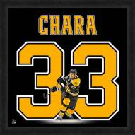 Boston Bruins Zdeno Chara Uniframe Framed Jersey Photo