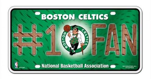 Boston Celtics #1 Fan License Plate