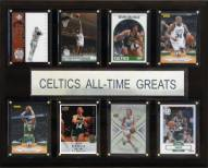 "Boston Celtics 12"" x 15"" All-Time Greats Plaque"