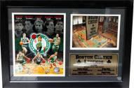"Boston Celtics 12"" x 18"" Legends Photo Stat Frame"