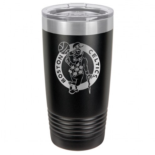 Boston Celtics 20 oz. Black Stainless Steel Polar Tumbler