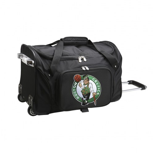 "Boston Celtics 22"" Rolling Duffle Bag"