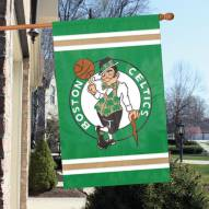 Boston Celtics Applique 2-Sided Banner Flag