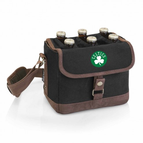 Boston Celtics Beer Caddy Cooler Tote with Opener