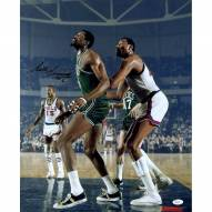 Boston Celtics Bill Russell Signed Box Out Vertical 16 x 20 Photo
