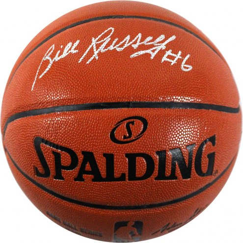 Boston Celtics Bill Russell Signed Indoor/Outdoor NBA Basketball
