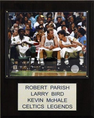 "Boston Celtics Bird-Parrish-McHale 12"" x 15"" Player Plaque"