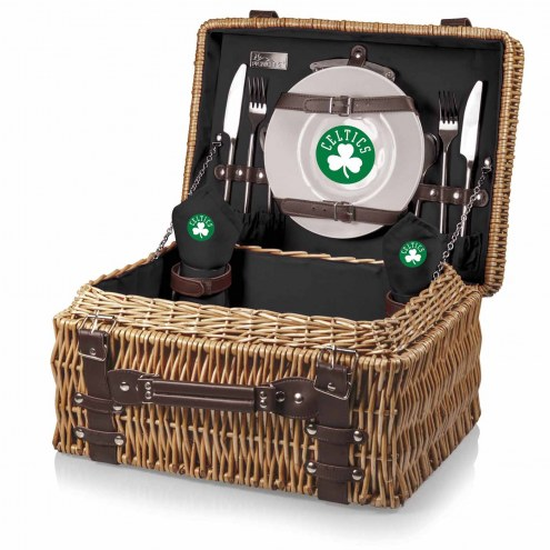 Boston Celtics Black Champion Picnic Basket