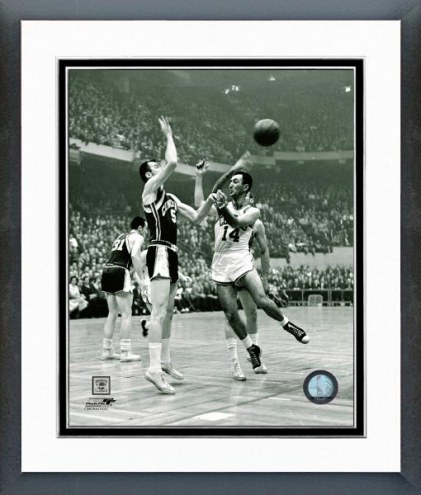 Boston Celtics Bob Cousy Action Framed Photo