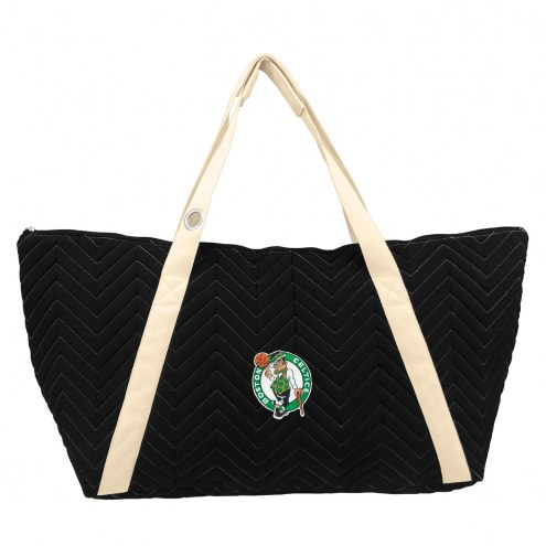 Boston Celtics Chevron Stitch Weekender Bag