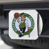 Boston Celtics Chrome Color Hitch Cover