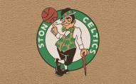Boston Celtics Colored Logo Door Mat