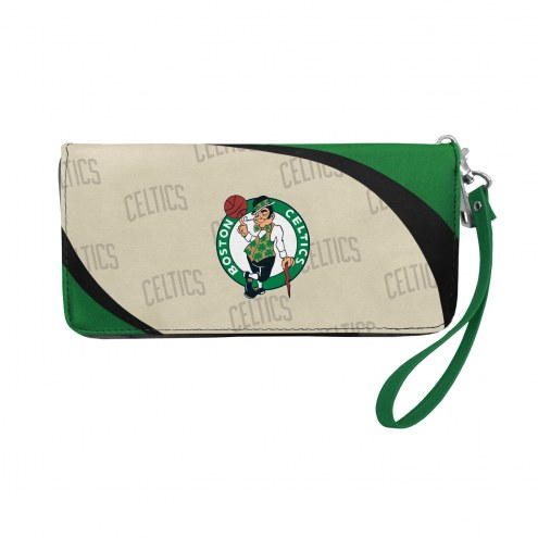 Boston Celtics Curve Zip Organizer Wallet