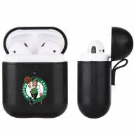 Boston Celtics Fan Brander Apple Air Pods Leather Case