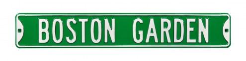 Boston Celtics Garden Street Sign