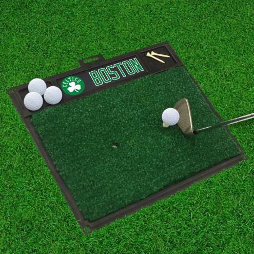 Boston Celtics Golf Hitting Mat