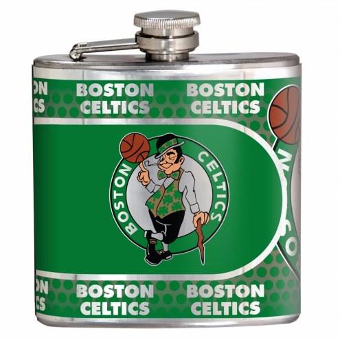 Boston Celtics Hi-Def Stainless Steel Flask