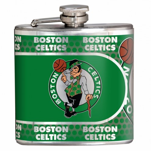 Boston Celtics Hi-Def Stainless Steel Flask