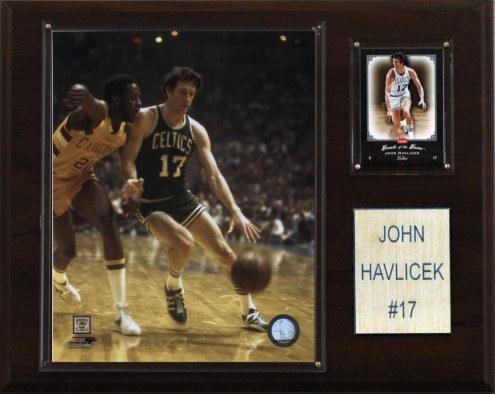 "Boston Celtics John Havlicek 12"" x 15"" Player Plaque"
