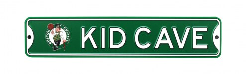Boston Celtics Kid Cave Street Sign