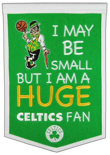 Boston Celtics Lil Fan Traditions Banner