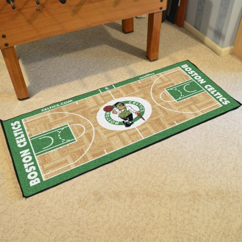Boston Celtics NBA Court Large Runner
