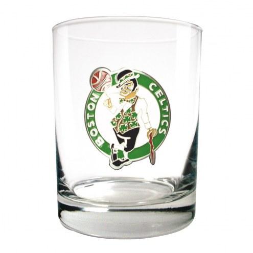 Boston Celtics NBA 2-Piece 14 Oz. Rocks Glass Set