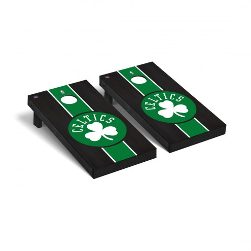 Boston Celtics Onyx Stained Cornhole Game Set