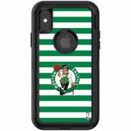 Boston Celtics OtterBox iPhone X/Xs Defender Stripes Case