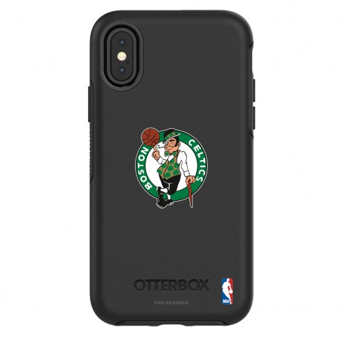 Boston Celtics OtterBox iPhone X/Xs Symmetry Black Case