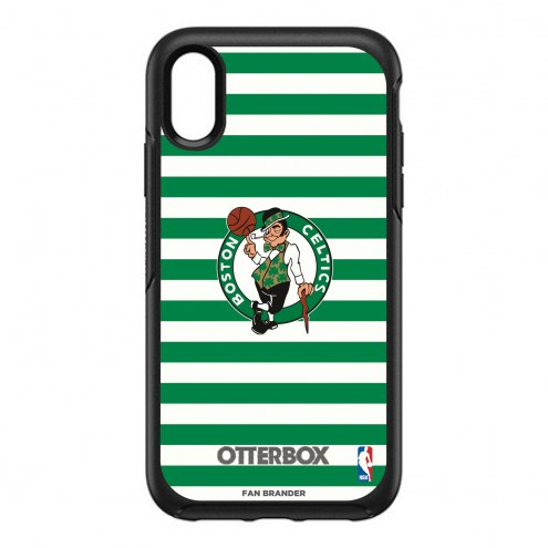 Boston Celtics OtterBox iPhone XR Symmetry Stripes Case