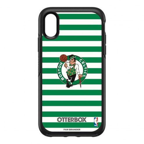 Boston Celtics OtterBox iPhone XR Symmetry Stripes Case
