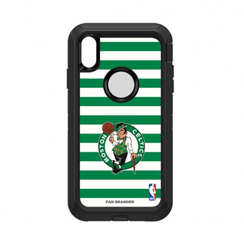 Boston Celtics OtterBox iPhone XS Max Defender Stripes Case