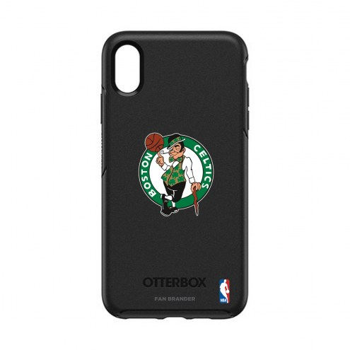 Boston Celtics OtterBox iPhone XS Max Symmetry Black Case