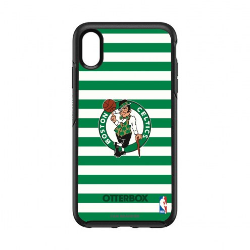 Boston Celtics OtterBox iPhone XS Max Symmetry Stripes Case