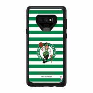 Boston Celtics OtterBox Samsung Galaxy Note9 Symmetry Stripes Case
