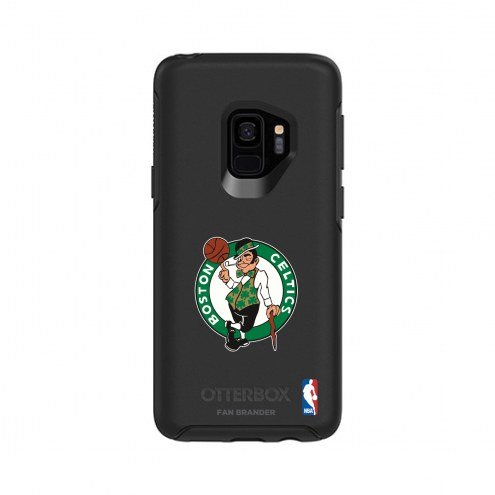 Boston Celtics OtterBox Samsung Galaxy S9 Symmetry Black Case
